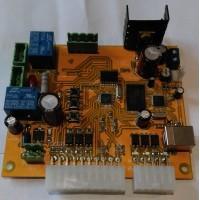 Комплект электроники для аттракциона аэрохоккей, (высота цифр плат индикации - 38 мм)
